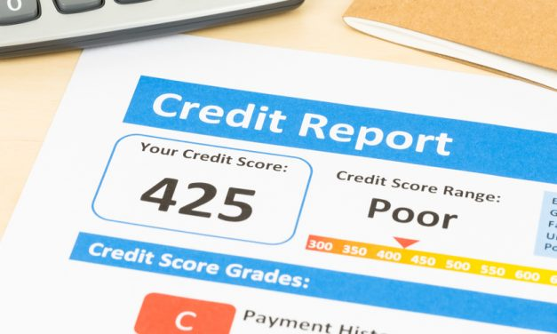 How long do marks stay on my credit report?