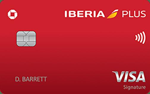Chase iberia visa signature credit card
