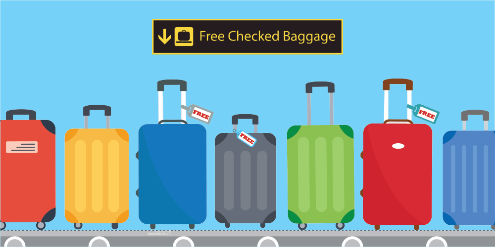 Your Complete Guide For Free Checked Bags Benefits [2021]